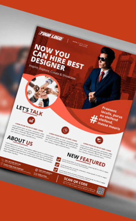 Flyer Design - hiring Squad