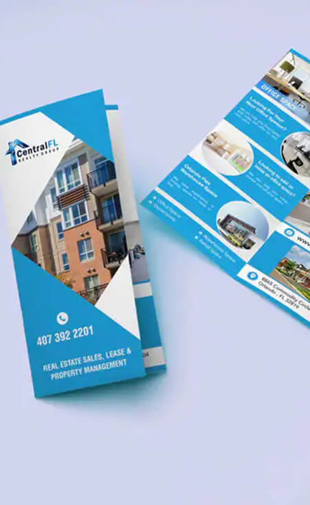 Tri-Fold Brochure Design - CentralFL Properties