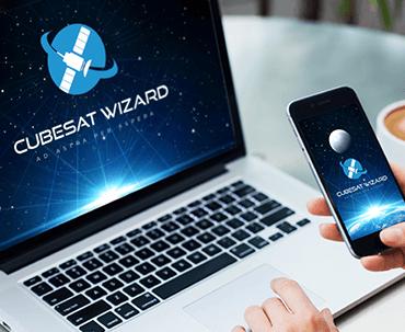 Logo Design - Cubesat Wizard