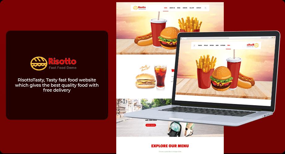 Website Design - Rissoto